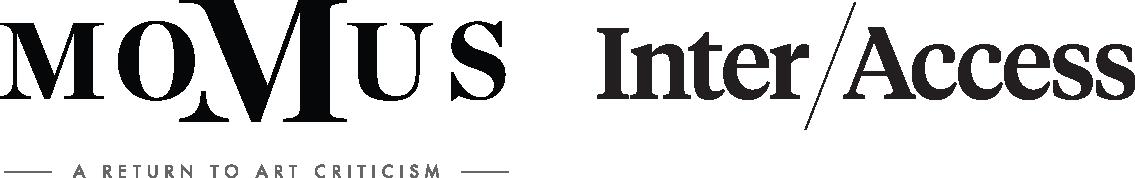 Momus and InterAccess Logos